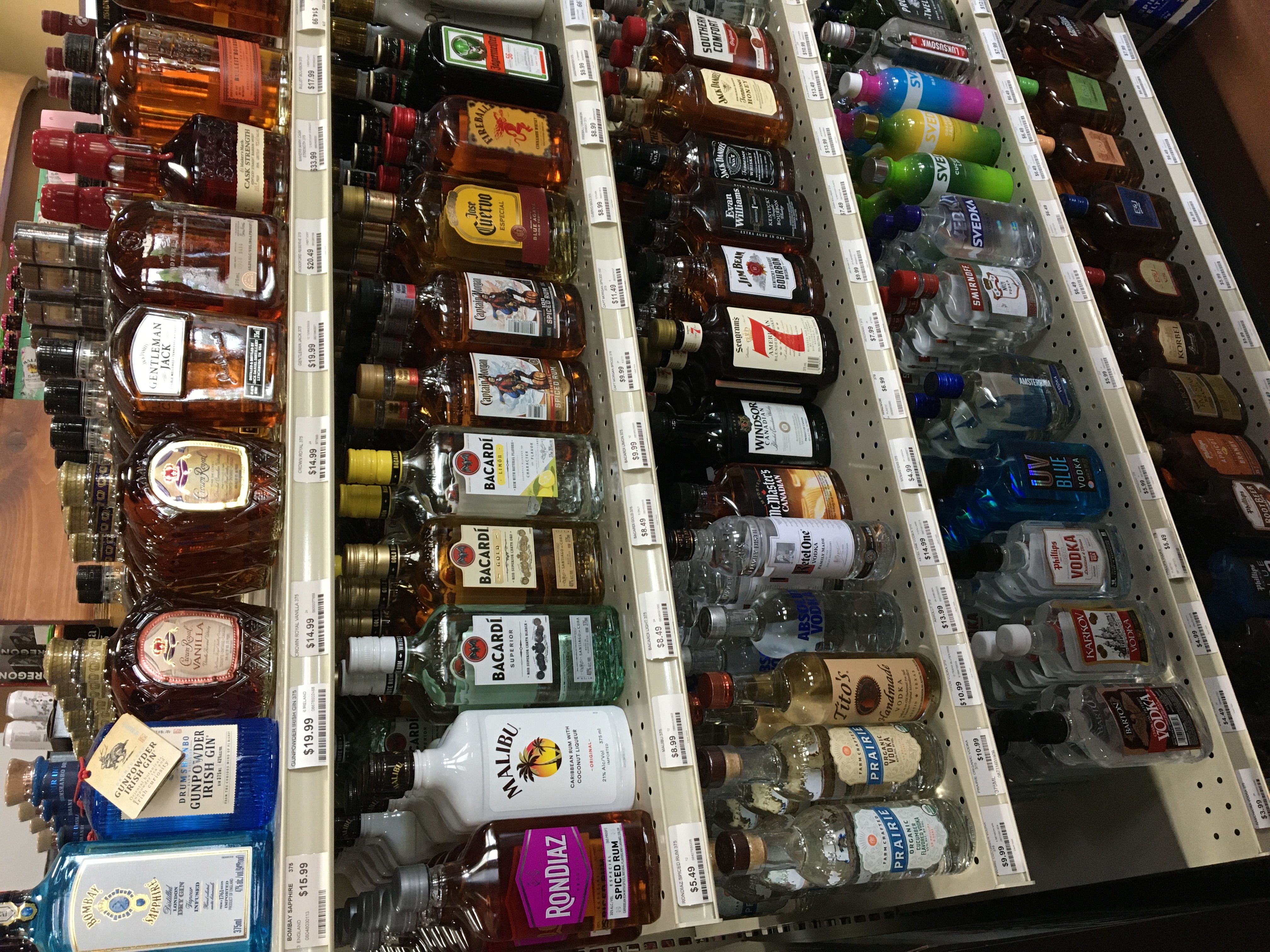 Small Size Liquor