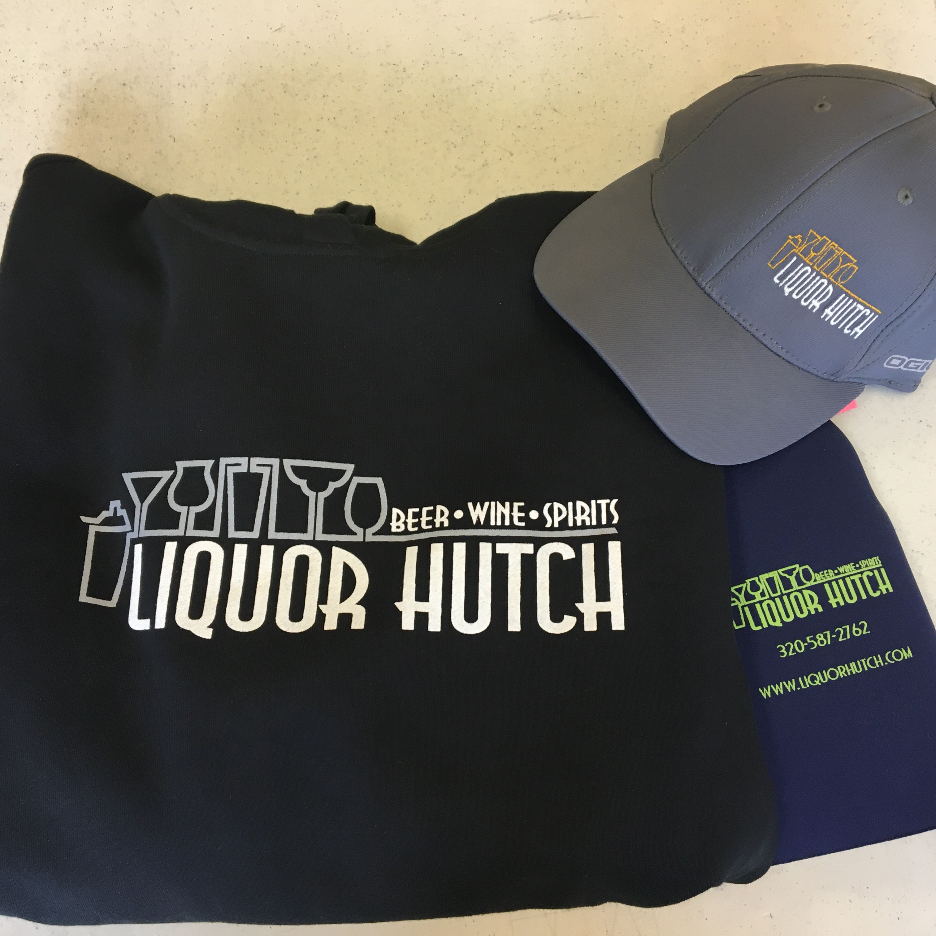 Liquor Hutch Merchandise
